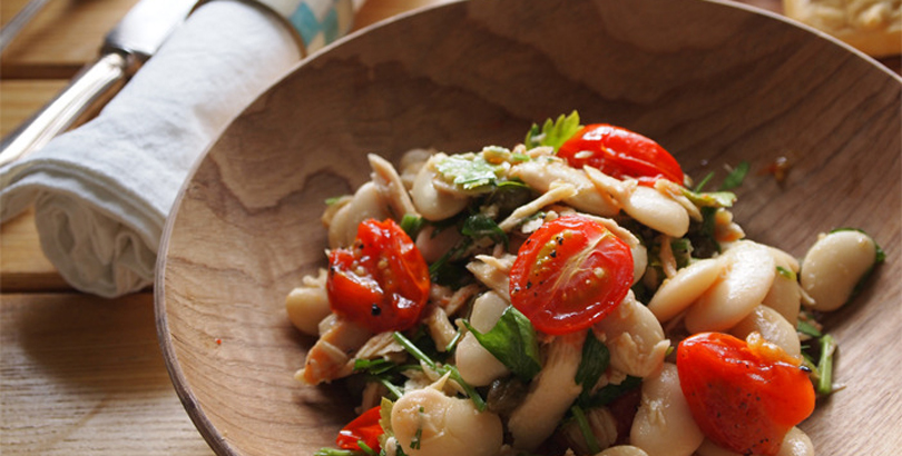 Butter Bean And Tomato Salad