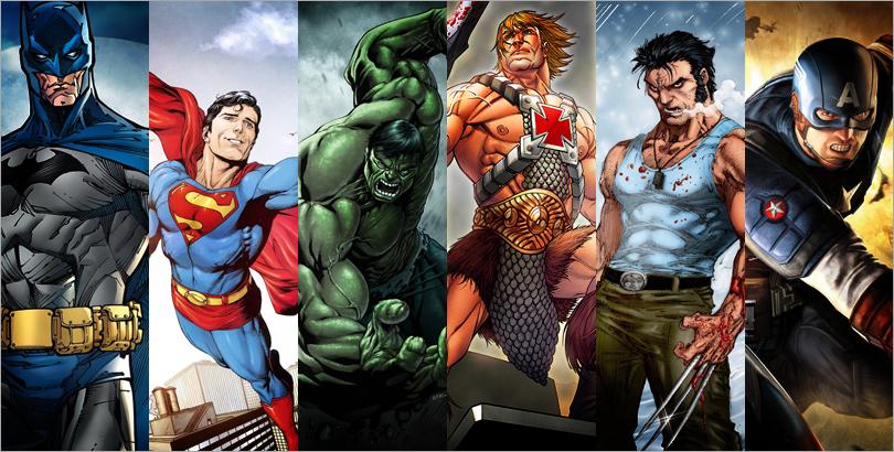Best Physique Male Superhero