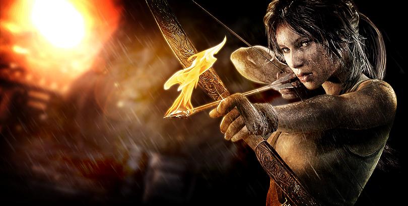 Lara Croft India