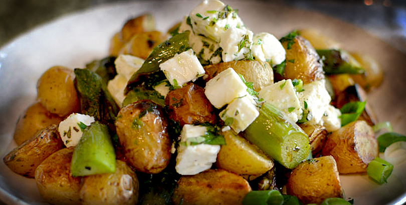 Potato and Feta