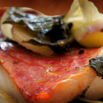 Baked Red Mullet with Oranges
