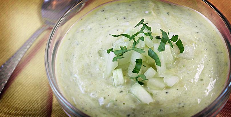 Yogurt and Cucumber Soup